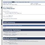 Mi hoja de estilo CSS para Javadoc